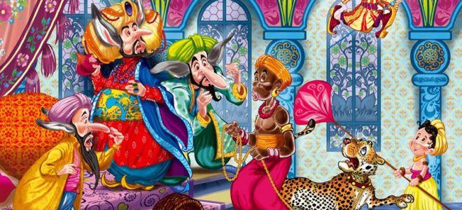 Главные герои сказки «Маленький Мук»