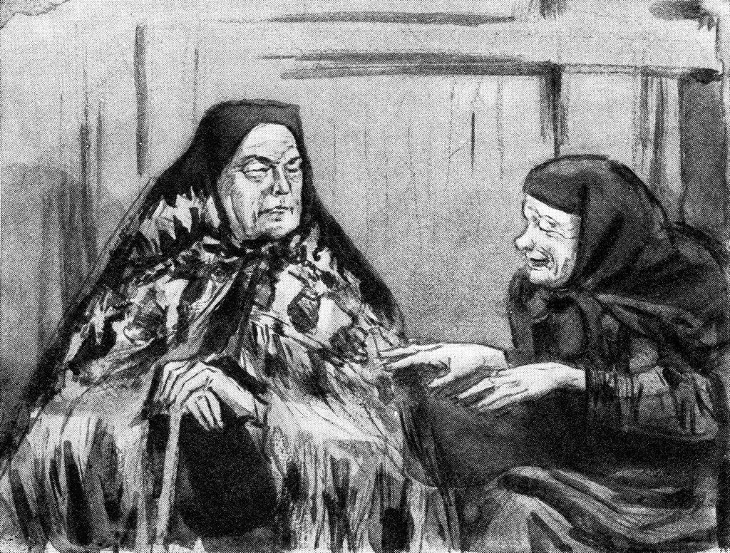 Кабаниха и Феклуша